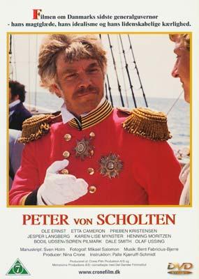 Peter von Scholten (DVD) - Laserdisken.dk - salg af DVD og Blu-ray film.