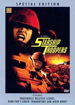 Starship Troopers (Special Edition) (DVD) - Klik her for at se billedet i stor størrelse.