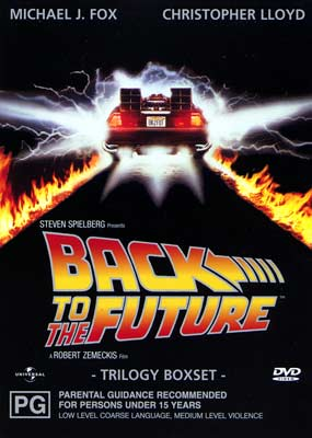 Back to the Future Trilogy (Australsk reg. 2/4)  (DVD) - Klik her for at se billedet i stor st�rrelse.
