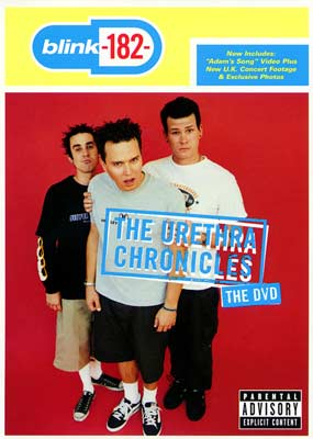 Blink 182: The Urethra Chronicles (1999)  (DVD) - Klik her for at se billedet i stor st�rrelse.