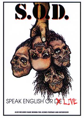 S.O.D. Speak English or Die... Live  (DVD) - Klik her for at se billedet i stor st�rrelse.