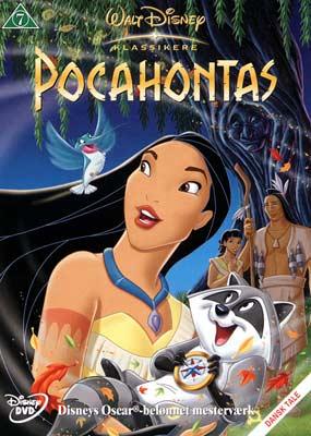 Pocahontas (Walt     Disney)  (DVD) - Klik her for at se billedet i stor størrelse.