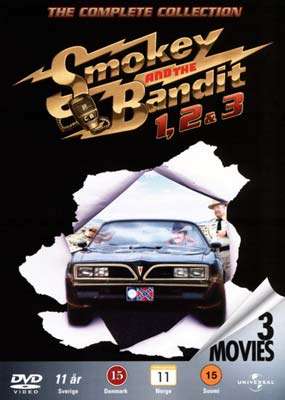 Smokey and the Bandit 1, 2 & 3 (3 film) (DVD) - Klik her for at se billedet i stor størrelse.