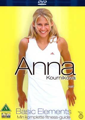 Anna Kournikova: Basic Elements  (DVD) - Klik her for at se billedet i stor størrelse.