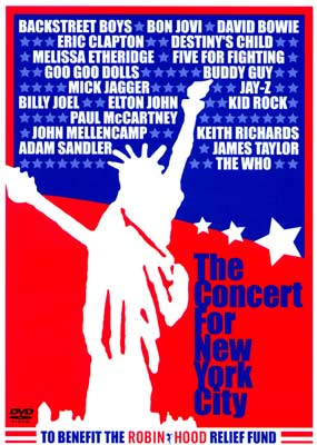 Concert for New York City, The (2-disc) (DVD) - Klik her for at se billedet i stor størrelse.