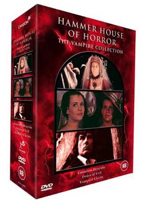 Hammer House of Horror: The Vampire Collection  (DVD) - Klik her for at se billedet i stor st�rrelse.