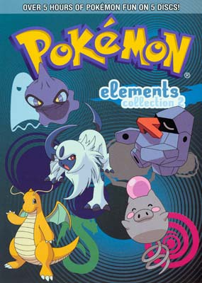 Pok�mon - Elements: Collection #2 (5-disc) (DVD) - Klik her for at se billedet i stor st�rrelse.