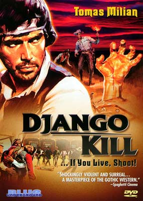 Django, Kill... If You Live, Shoot!  (DVD) - Klik her for at se billedet i stor størrelse.