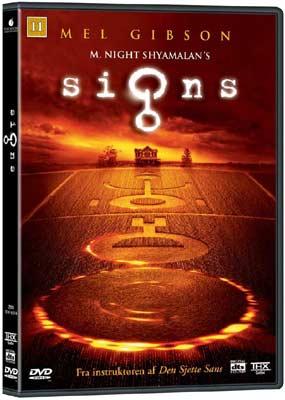 Signs (BRUGT)  (DVD) - Klik her for at se billedet i stor størrelse.