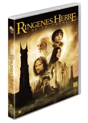 Ringenes Herre:   De to tårne (BRUGT) (2-disc) (DVD) - Klik her for at se billedet i stor størrelse.