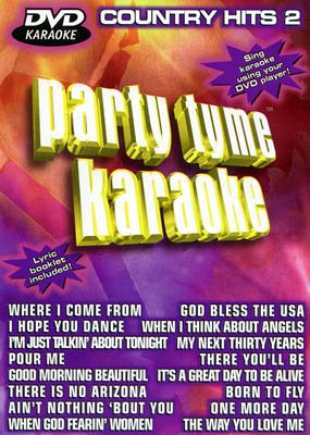 Party Tyme Karaoke: Country Hits 2  (DVD) - Klik her for at se billedet i stor st�rrelse.