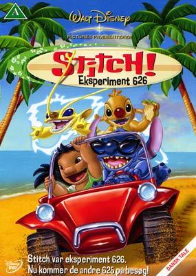 Stitch! Eksperiment 626 (BRUGT)  (DVD) - Klik her for at se billedet i stor størrelse.
