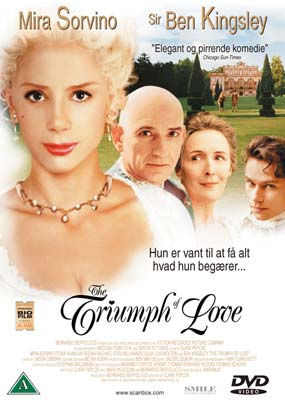 Triumph of Love, The  (DVD) - Klik her for at se billedet i stor st�rrelse.