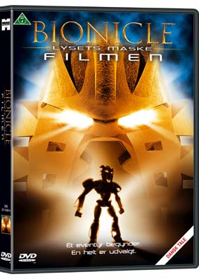 Bionicle 1: Lysets Maske (2003)  (DVD) - Klik her for at se billedet i stor størrelse.