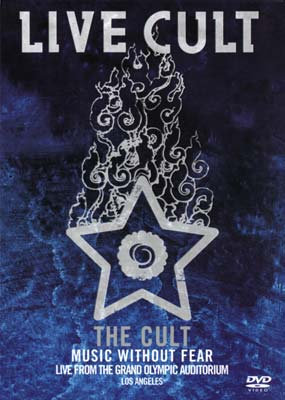 Cult, The: Live Cult - Music without Fear (2002)  (DVD) - Klik her for at se billedet i stor st�rrelse.