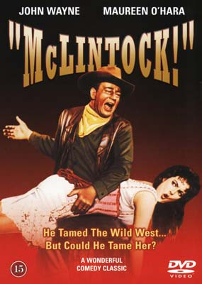 McLintock!  (DVD) - Klik her for at se billedet i stor størrelse.