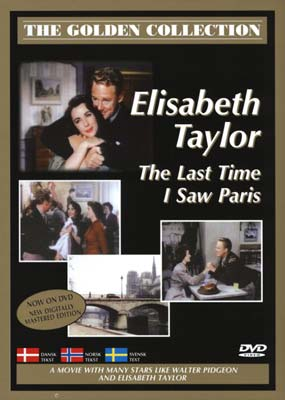 Last Time I Saw Paris, The  (DVD) - Klik her for at se billedet i stor st�rrelse.
