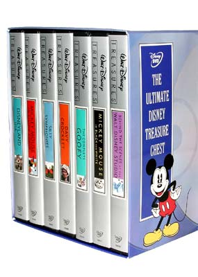 Ultimate Disney Treasure Chest, The  (DVD) - Klik her for at se billedet i stor st�rrelse.