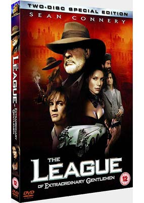 League of Extraordinary Gentlemen, The (2-disc) (DVD) - Klik her for at se billedet i stor størrelse.