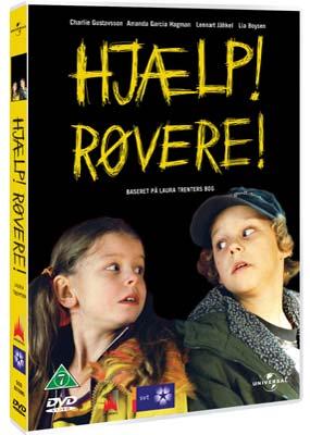 Hjælp! Røvere!  (DVD) - Klik her for at se billedet i stor størrelse.