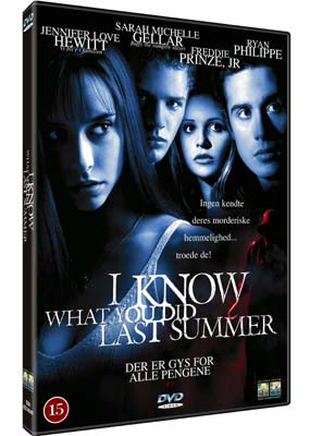 I Know What You Did Last  Summer  (DVD) - Klik her for at se billedet i stor st�rrelse.