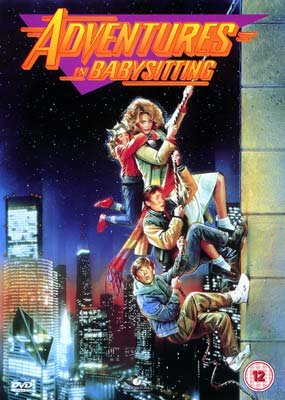 Adventures in Babysitting  (DVD) - Klik her for at se billedet i stor st�rrelse.