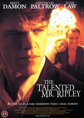 Talented Mr. Ripley,       The  (DVD) - Klik her for at se billedet i stor størrelse.