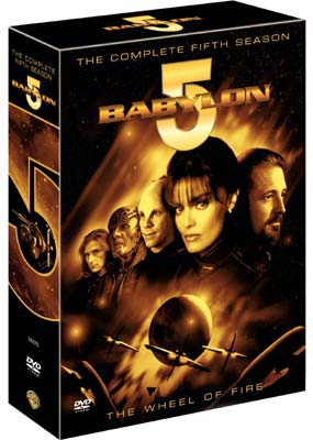 Babylon 5:  Season 5 - The Final Season (6-disc) (DVD) - Klik her for at se billedet i stor størrelse.