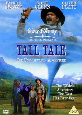 Tall Tale: The Unbelievable Adventure  (DVD) - Klik her for at se billedet i stor størrelse.