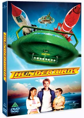 Thunderbirds  - The Movie (Bill Paxton)  (DVD) - Klik her for at se billedet i stor størrelse.