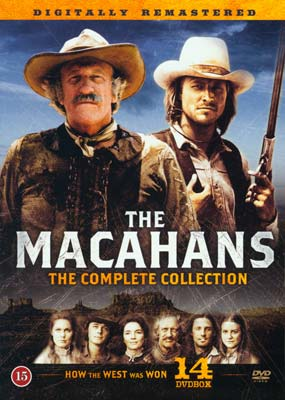 Macahans, The: The Complete Collection (14-disc) (DVD) - Klik her for at se billedet i stor størrelse.