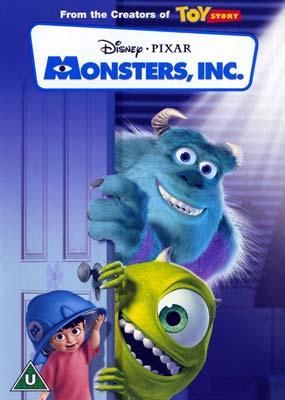 Monsters inc dvd klik her for at se billedet i stor størrelse