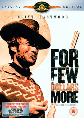 For a Few Dollars More (2-disc) (DVD) - Klik her for at se billedet i stor størrelse.