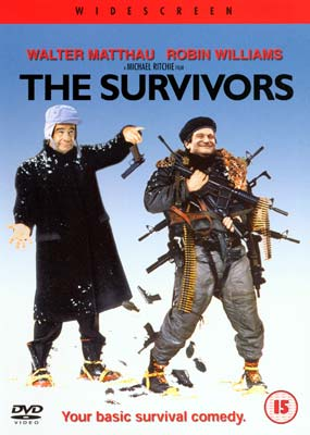 Survivors, The (Robin Williams)  (DVD) - Klik her for at se billedet i stor størrelse.