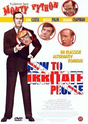 How to Irritate People (John Cleese)  (DVD) - Klik her for at se billedet i stor størrelse.