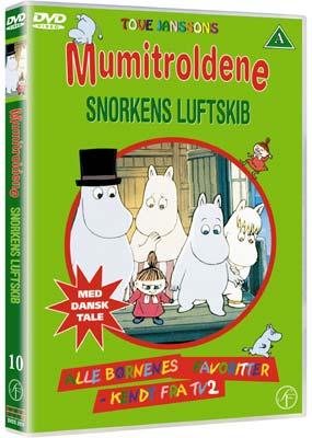 Mumitroldene 10: Snorkens luftskib (DVD) - Laserdisken.dk - salg af DVD og Blu-ray film.