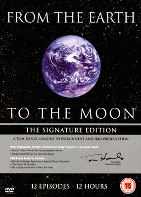 From the Earth to the Moon (5-disc) (DVD) - Klik her for at se billedet i stor størrelse.