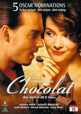 Chocolat (Johnny          Depp)  (DVD) - Klik her for at se billedet i stor størrelse.
