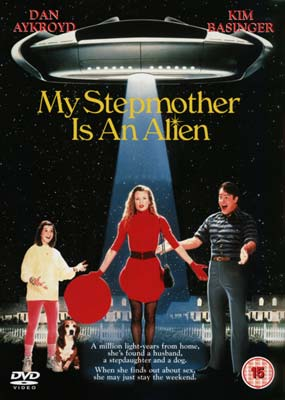 My Stepmother is an Alien  (DVD) - Klik her for at se billedet i stor st�rrelse.