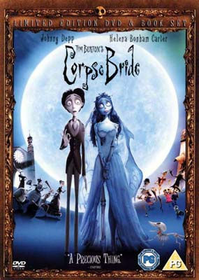 Corpse Bride - Limited Edition (with Book) (DVD) - Klik her for at se billedet i stor størrelse.
