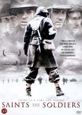 Saints and Soldiers  (DVD) - Klik her for at se billedet i stor størrelse.