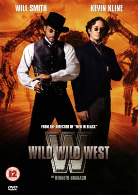 Wild Wild West (Will Smith)  (DVD) - Klik her for at se billedet i stor st�rrelse.