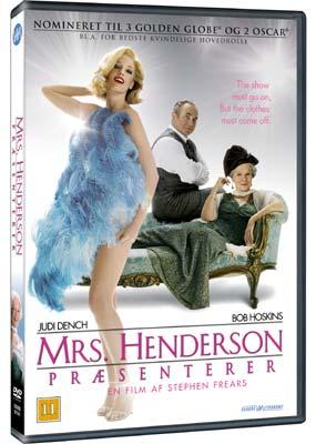 Mrs. Henderson præsenterer  (DVD) - Klik her for at se billedet i stor størrelse.