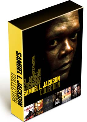 Samuel L. Jackson Collection (6 film) (DVD) - Klik her for at se billedet i stor st�rrelse.