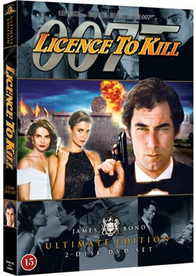 Licence to Kill: Ultimate Edition (2-disc) (DVD) - Klik her for at se billedet i stor størrelse.