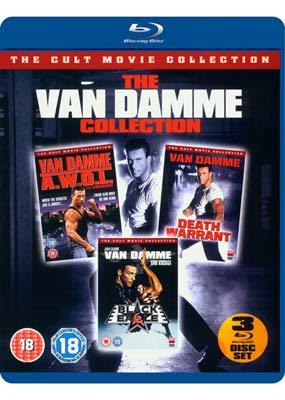 Van Damme Cult Collection, The (Blu-ray) (BD) - Klik her for at se billedet i stor størrelse.