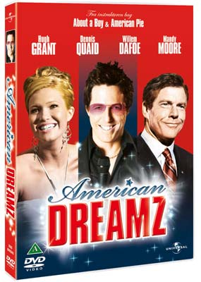 American Dreamz  (DVD) - Klik her for at se billedet i stor størrelse.
