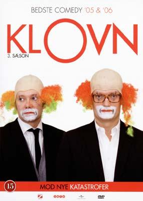Klovn: 3. sæson - mod nye katastrofer (2-disc) (DVD) - Laserdisken.dk - salg af DVD og Blu-ray film.