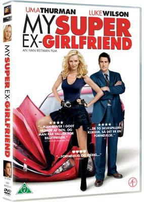 My Super   Ex-Girlfriend  (DVD) - Klik her for at se billedet i stor størrelse.