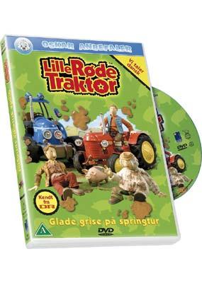 Lille Røde Traktor 6: Glade grise på springtur (DVD) - Laserdisken.dk - salg af DVD og Blu-ray film.